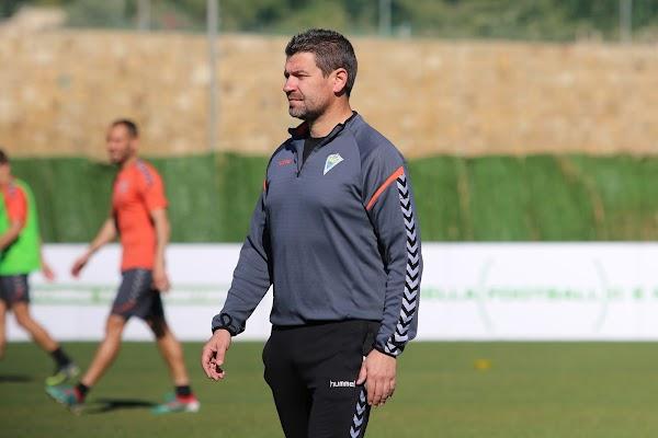 """Estévez - Marbella FC -: """"Estamos concienciados de que queremos sumar los tres puntos"""""""
