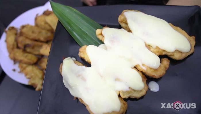Resep cara membuat pisang goreng fla