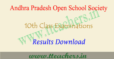 AP open 10th results 2018, Manabadi aposs ssc result