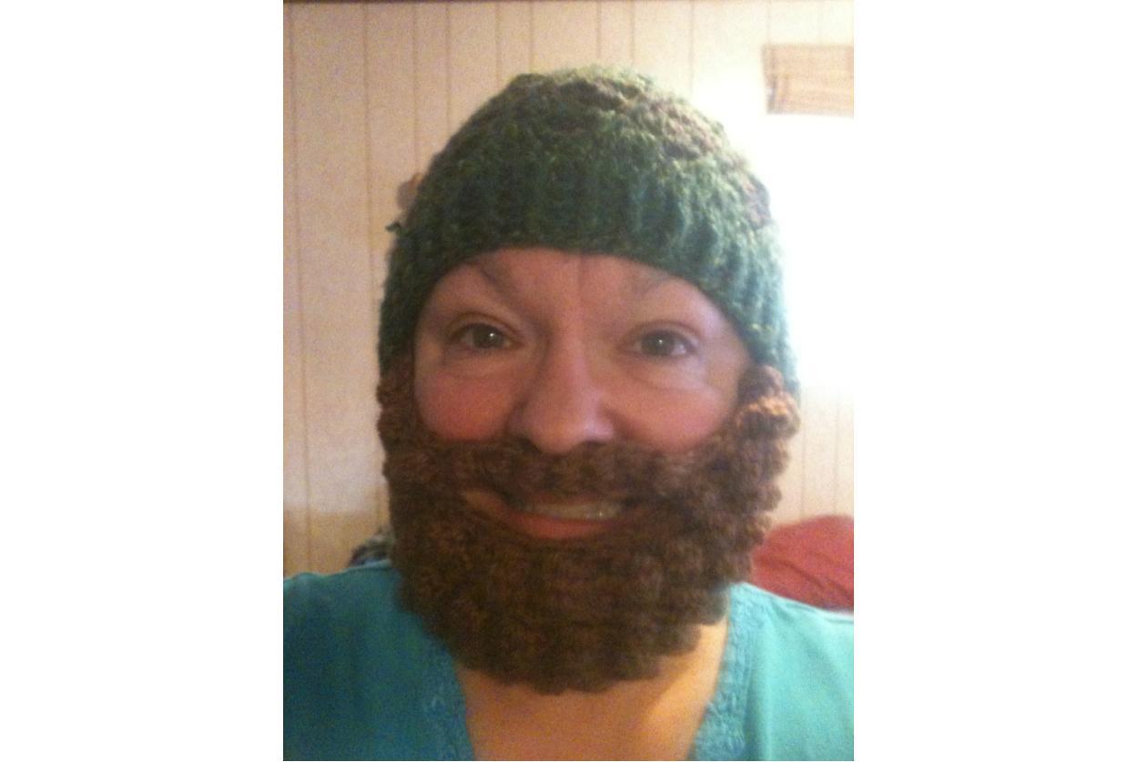 872ca788a Bobble Beard Beanie Free Crochet Pattern