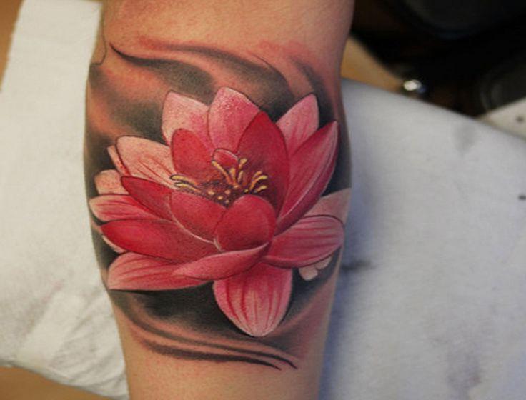 Diseños De Flores De Loto Para Tatuajes