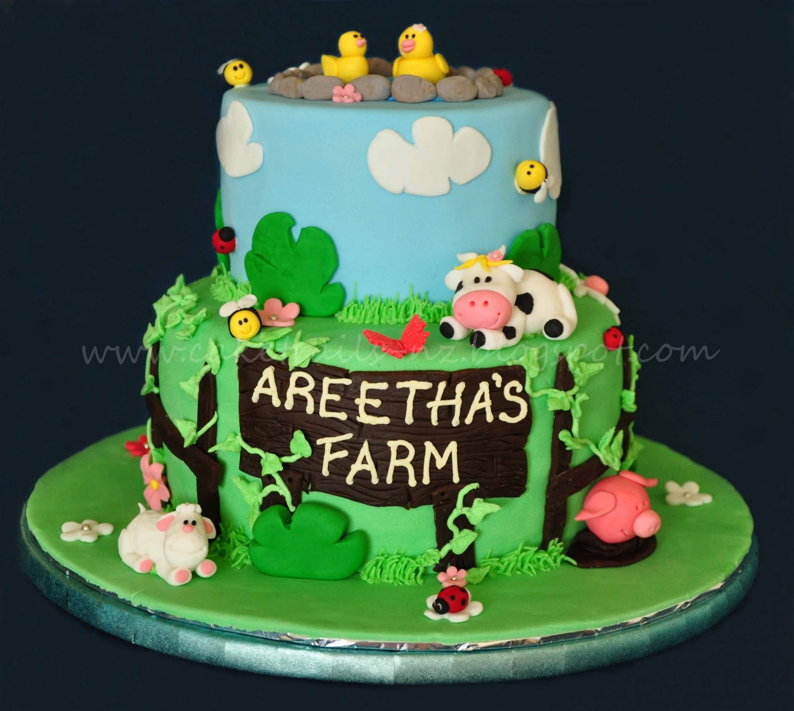 Cake Trails Farm Cake