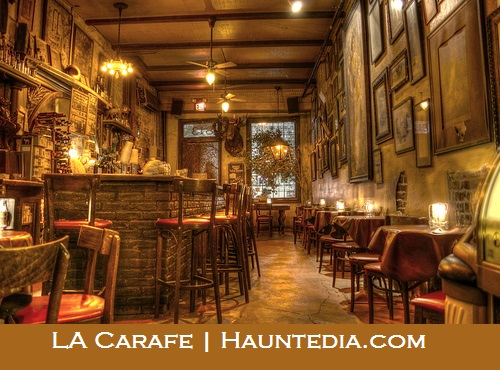 La Carafe is in the list of top 5 absolutely haunted places in Texas to see phantoms