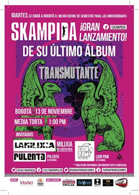 """""""Transmutante"""" en concierto en La Media Torta"""