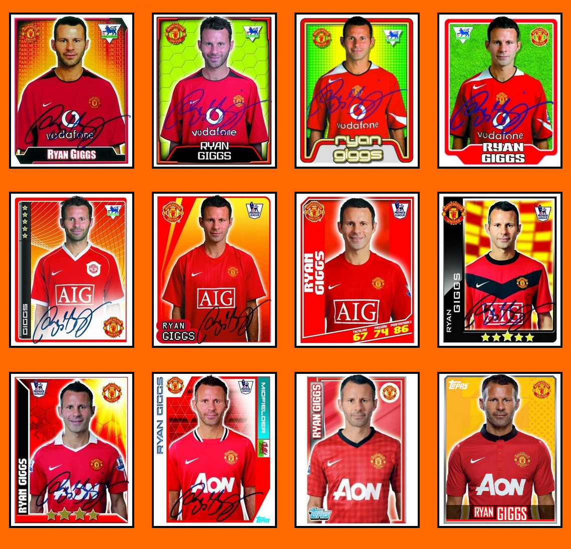 Old School Panini: Happy Birthday Mr Ryan GIGGS