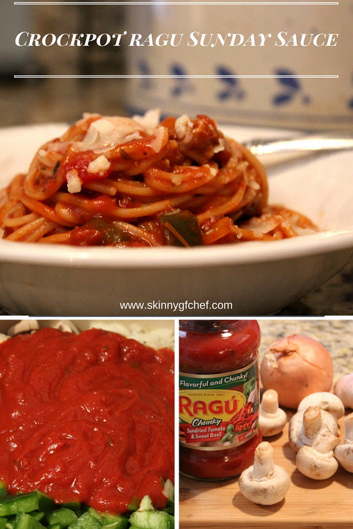 Crockpot Ragu Sunday Sauce - Skinny GF Chef healthy and great tasting gluten free recipes