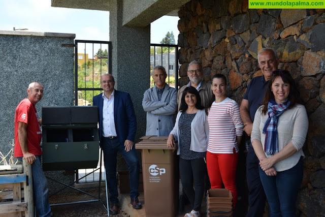 El Consorcio de Servicios de La Palma lleva al CEIP Puntagorda su campaña de compostaje en centros escolares