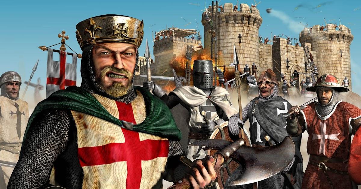 لعبة stronghold legends مضغوطة من ميديا فاير