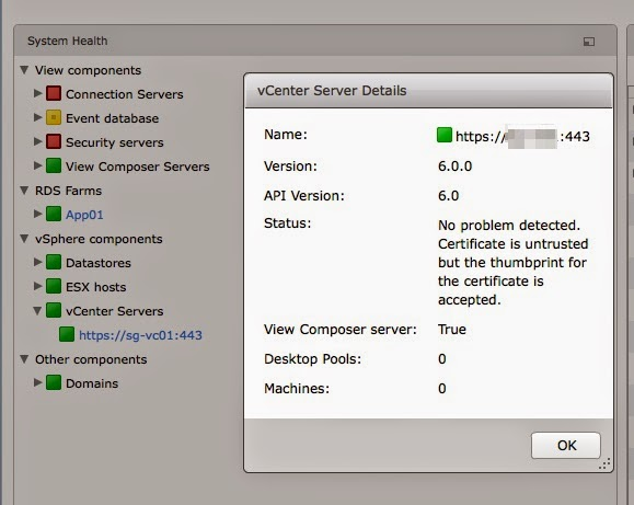 Plain Virtualization: Unable to verify certificate for