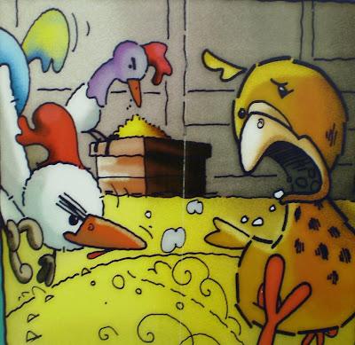 Los Gallos y la Perdiz