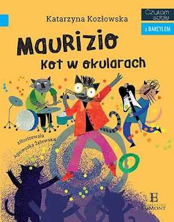 """""""Maurizio. Kot w okularach"""" Katarzyna Kozłowska - recenzja"""
