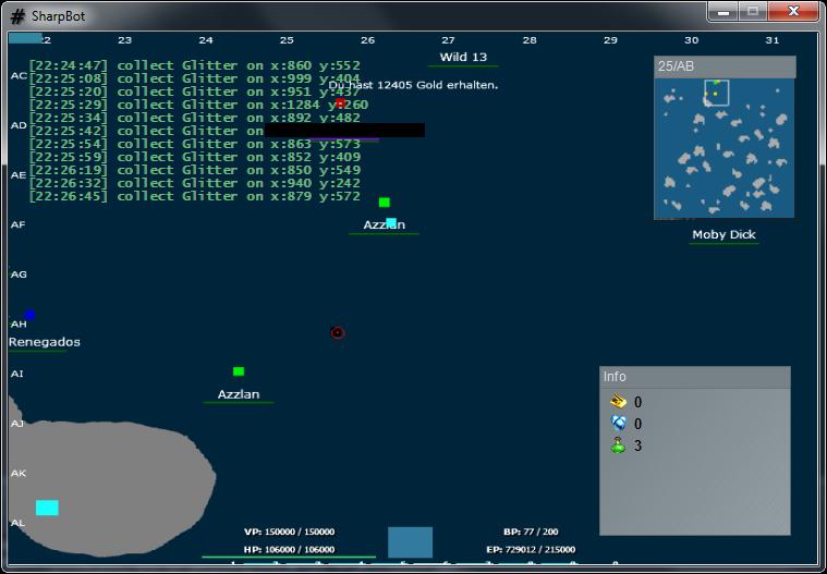 screenshot SeaFight SharpBot Hile Oyun Botu indir