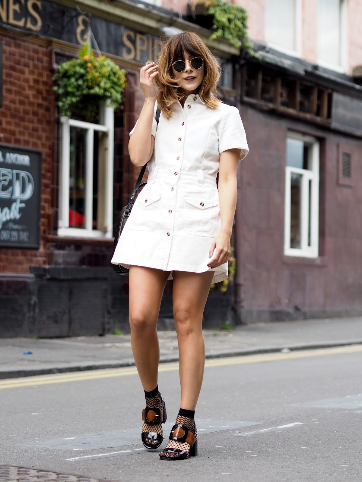 Summer Styling with Lost Ink dress at ASOS and Next Buckle Sandals
