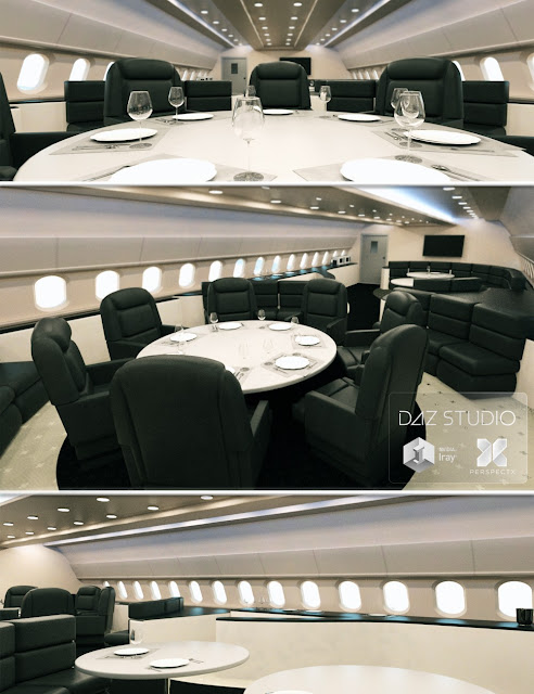 Luxury Jet Lounge