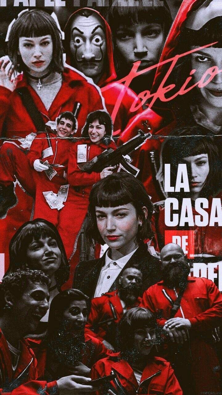 La Casa De Papel 4k Wallpapers Wallpaper Cave