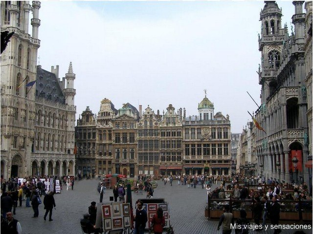 La Grand Place de Bruselas, Bélgica