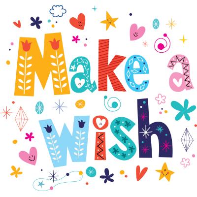 Make a Wish Text