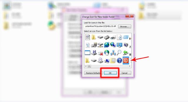Cara Terbaru Untuk Merubah Icon Folder Pada Windows 7/8/10