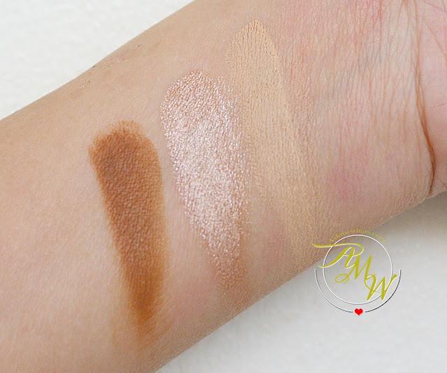 a photo of How to Use NYX Cream Highlight & Contour Palette Medium + Review