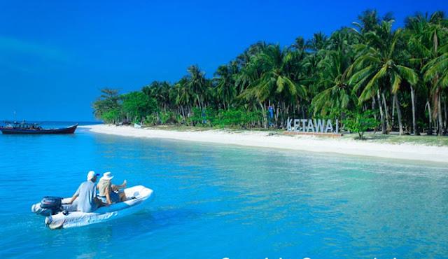 Pantai Pulau Ketawai