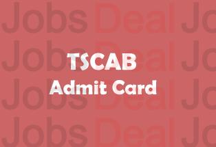 TSCAB Admit Card 2017