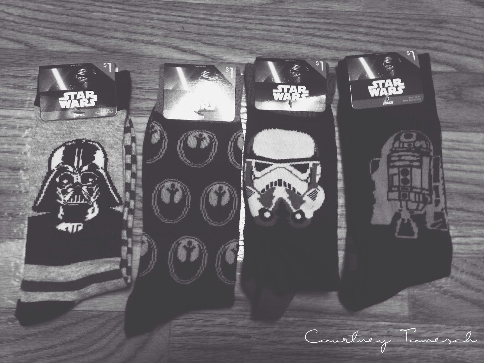 Courtney Tomesch Star Wars socks