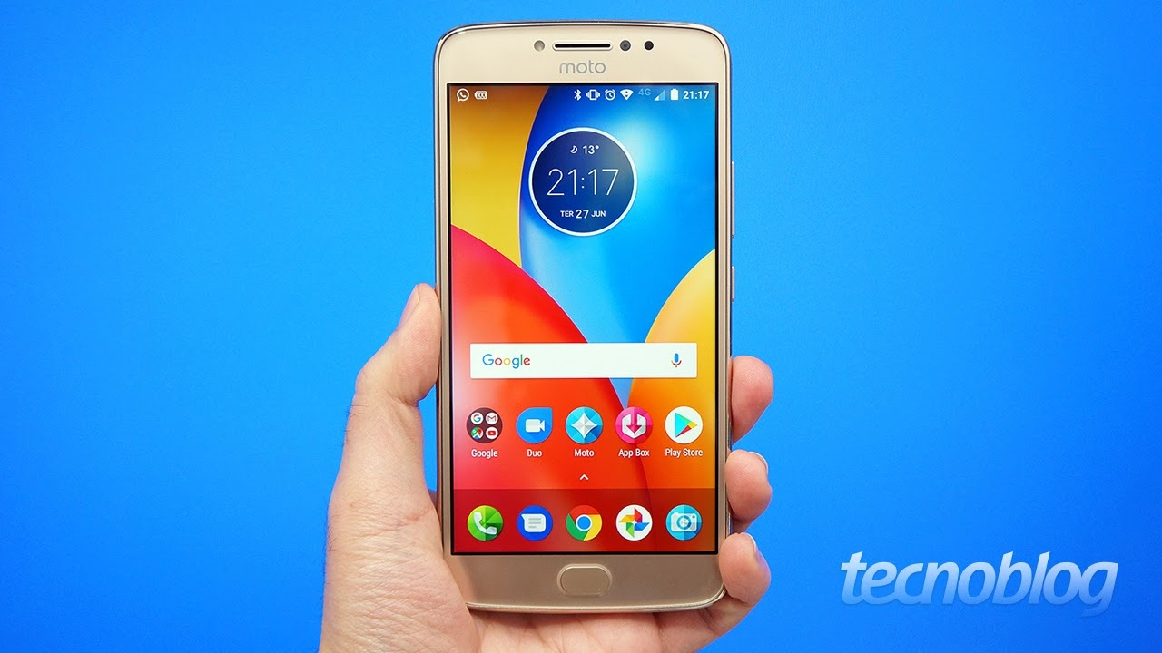 c4d121020 Smartphone Motorola Moto E4 Plus Dual Chip Android 7.1.1 Nougat Tela 5.5