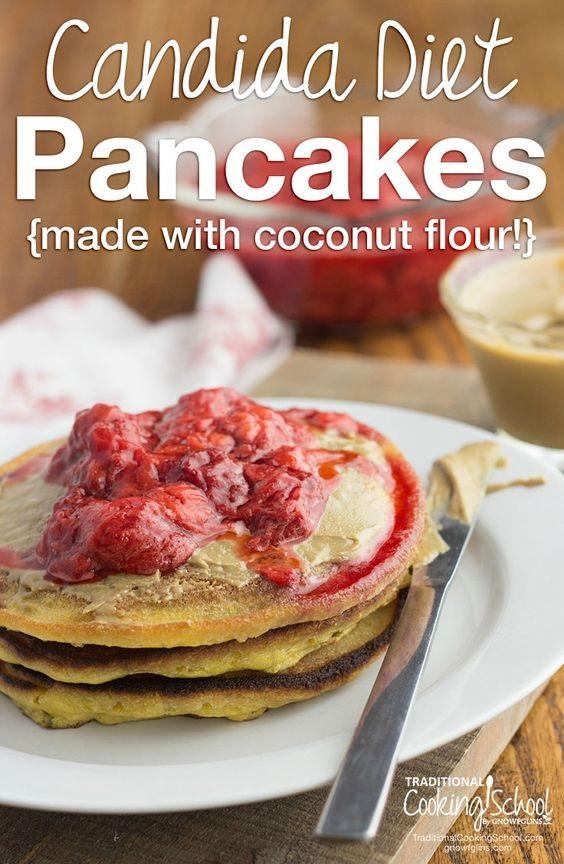 Candida Diet Pancakes