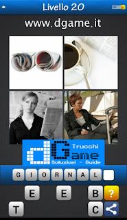 PACCHETTO 5 Soluzioni Trova la Parola - Foto Quiz con Immagini e Parole soluzione livello 20