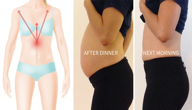 You Have an Inflated Stomach Even You Have Not Eaten Too Much? Immediately do This!