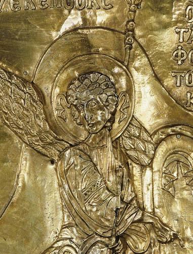 Ο Άγγελος Κυρίου (λεπτομέρεια).