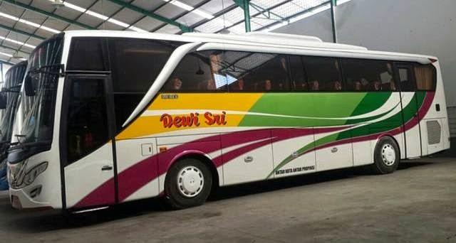 rute dan tarif bus dewi sri jurusan cirebon, brebes, tegal, pekalongan, slawi