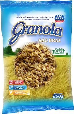 Resultado de imagem para granola são braz