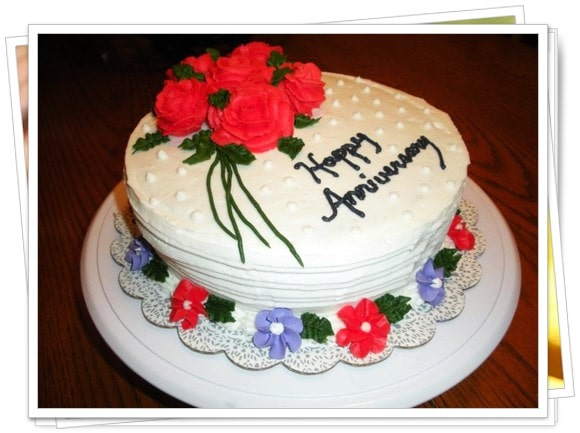 Best wedding Anniversary Photos, Images and Quotes - happy anniversary cake