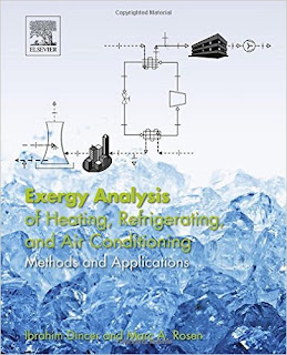 Exergy Analysis of Heating, Refrigerating and Air Conditioning Methods and Applications 1st Edition