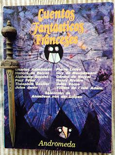 Portada del libro Cuentos fantásticos franceses, de varios autores