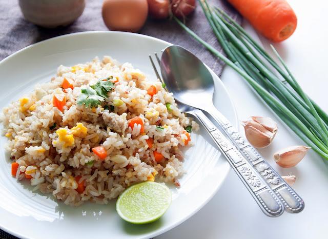 como fazer arroz forno