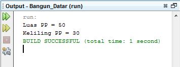 Menghitung Persegi Panjang Dengan Java