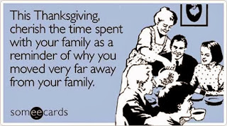 Funny Family Thanksgiving e-card