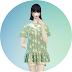 knitted collar flower blouse_니트 케이프 플라워 블라우스_여성 의류