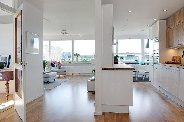 vivienda accesible espacios despejados