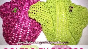 Cómo tejer un bolero fácil / Tutorial Crochet