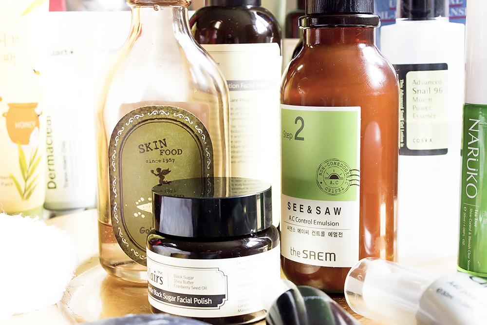Cómo crear tu propia rutina de cuidado de la piel coreana exfoliante