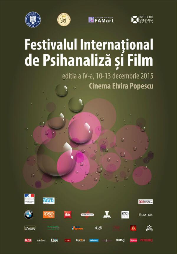 Festivalul International  de Psihanaliza si Film 2015 editia a IV-a