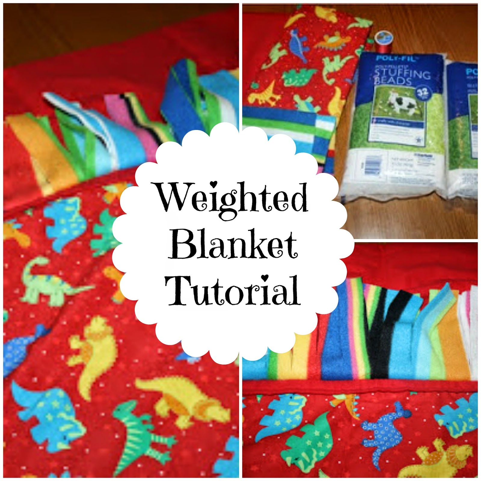 How To Make Your Own Weighted Blanket Tutorial The