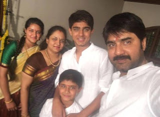 Telugu Actor Roshan Meka Family Wife Parents children's Marriage Photos