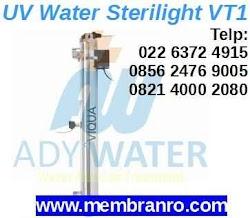 Jual Lampu UV Sterilisasi Air Viqua VT1 1 GPM di Bandung, Jakarta, Depok, Bogor, Tangerang Selatan ADY WATER