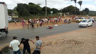 MULHER MORRE EM ACIDENTE NA BR 222 EM TIANGUÁ NA MANHÃ DESTE DOMINGO
