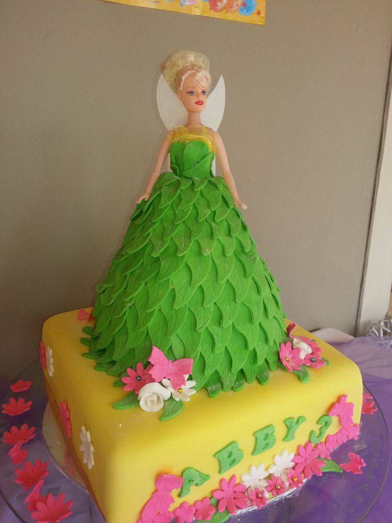 Tinker Bell Cake by Annalet Moodley
