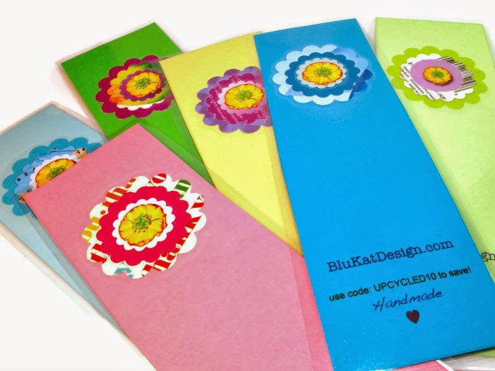 laminated bookmarks